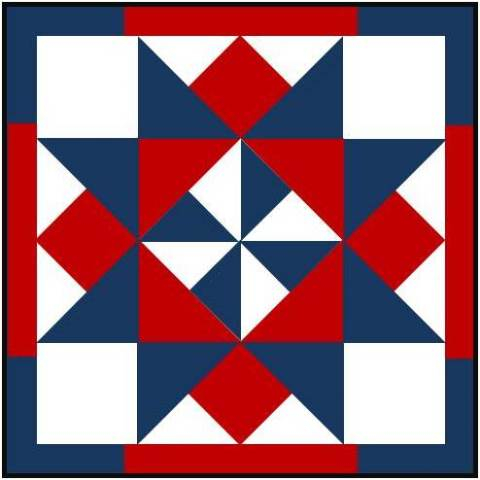knitalong.net   Barn Raising Quilt (& gallery from the